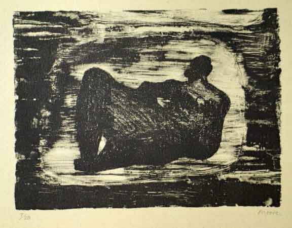 Black Reclining Figure III