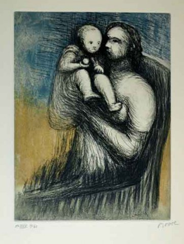 Mother And Child XXV
